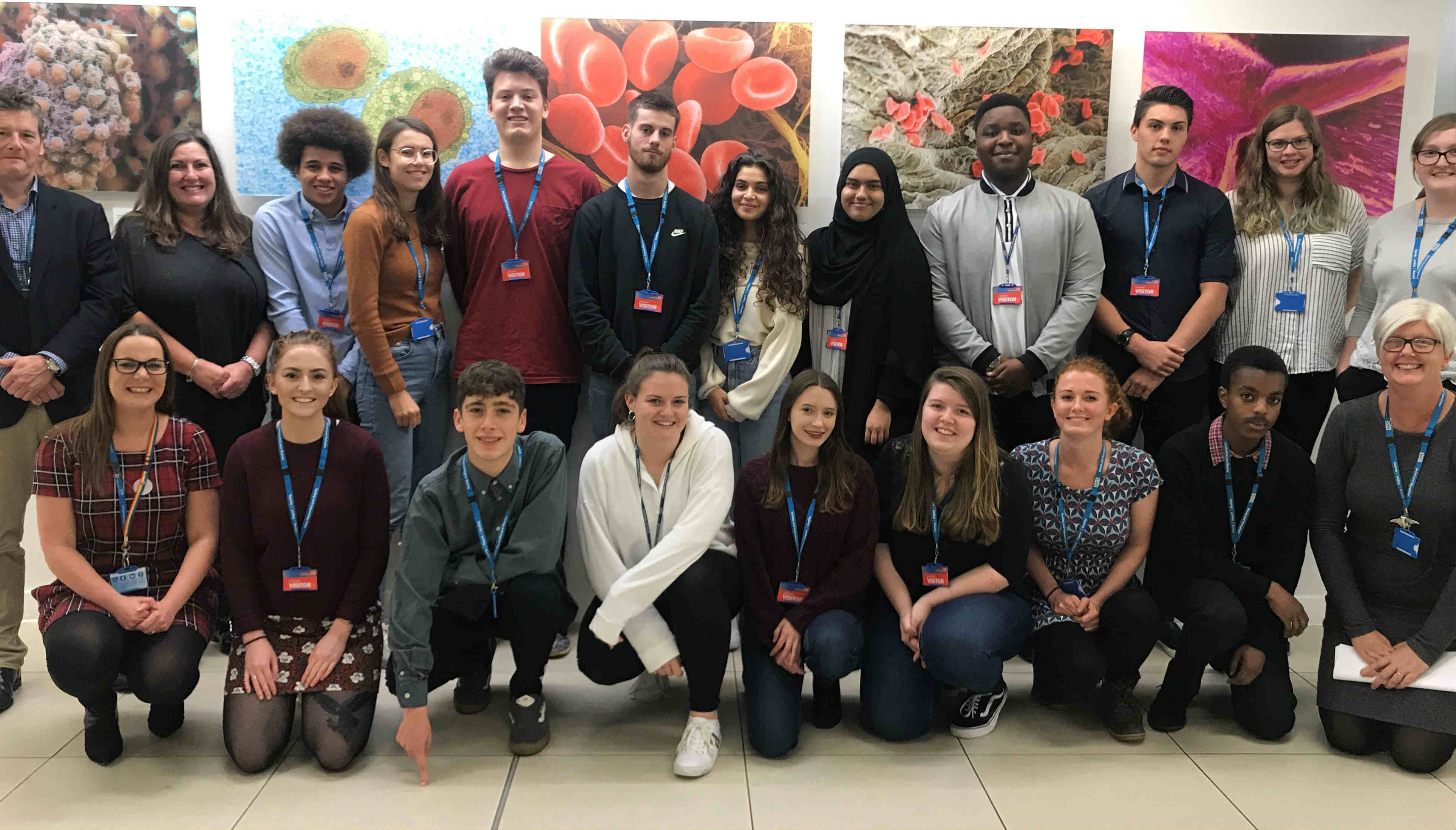 First advanced therapy apprentices meet face-to-face