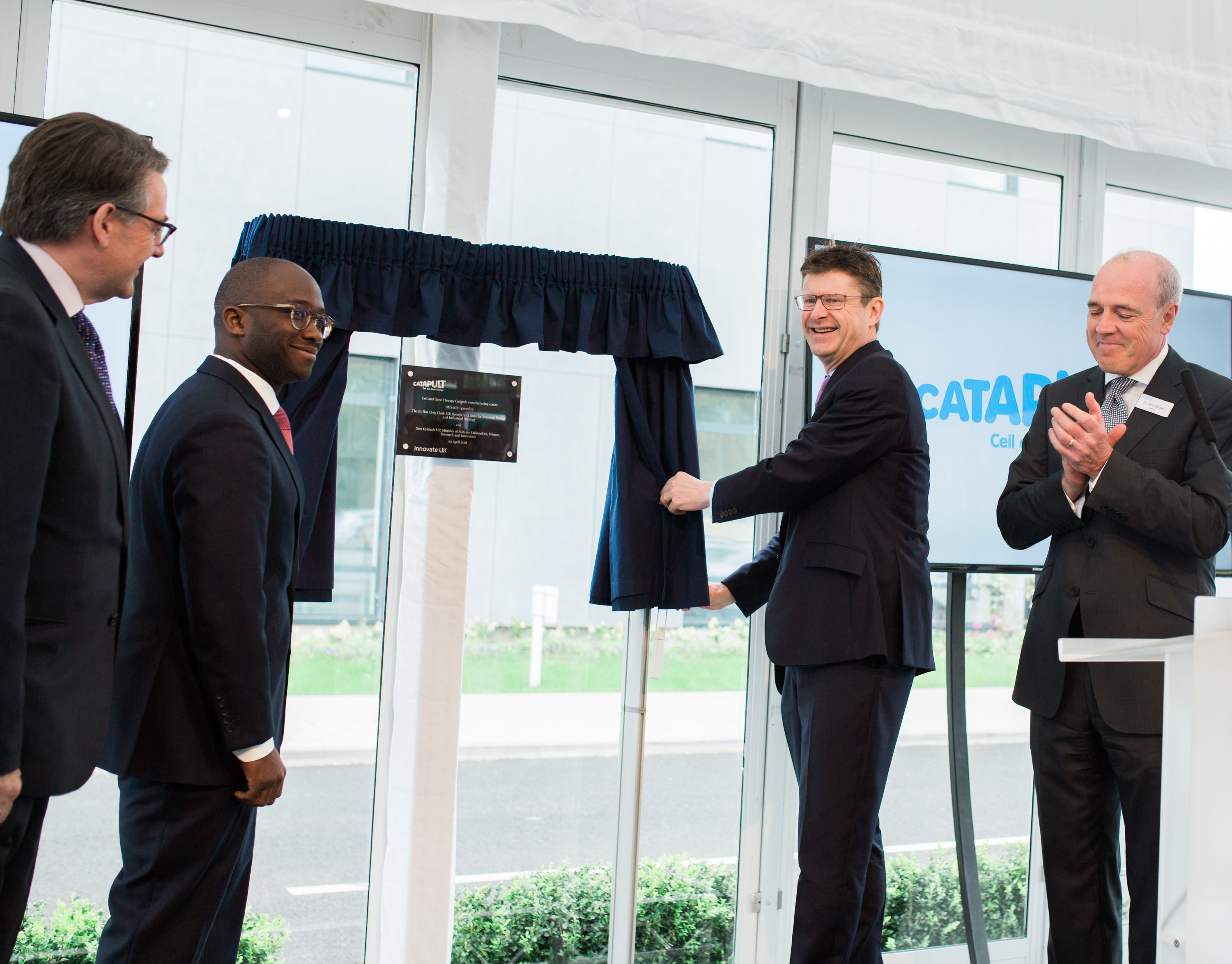 CGT Catapult manufacturing centre opening